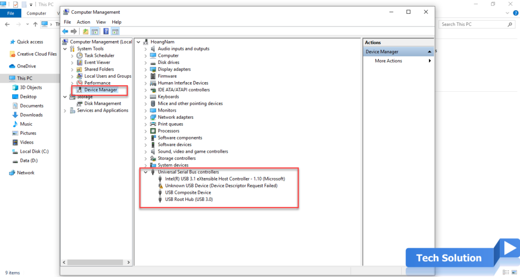Easy Steps To Fix USB Device Not Recognized in Windows 10 3