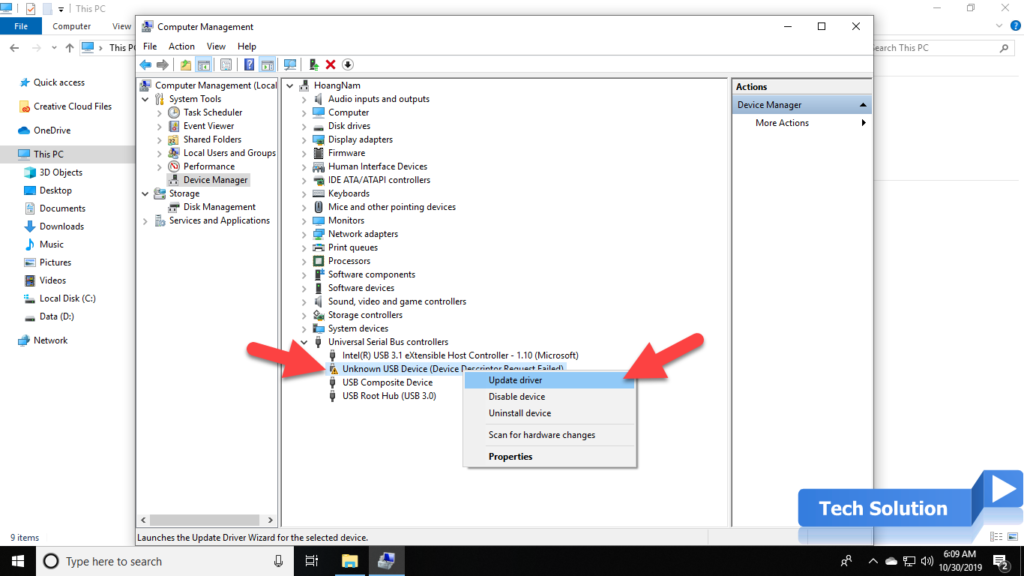 Easy Steps To Fix USB Device Not Recognized in Windows 10 4