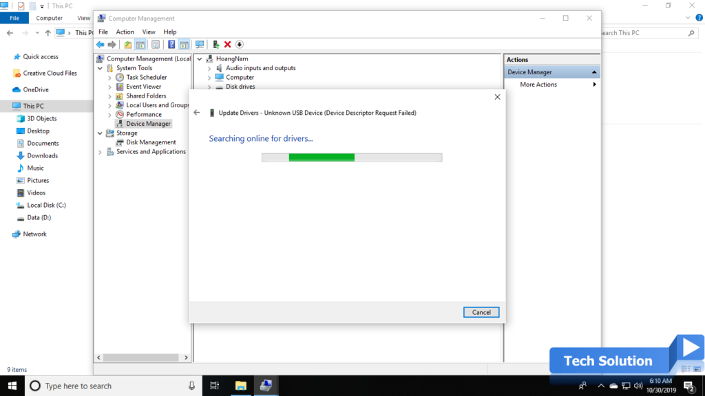 Easy Steps To Fix USB Device Not Recognized in Windows 10 6