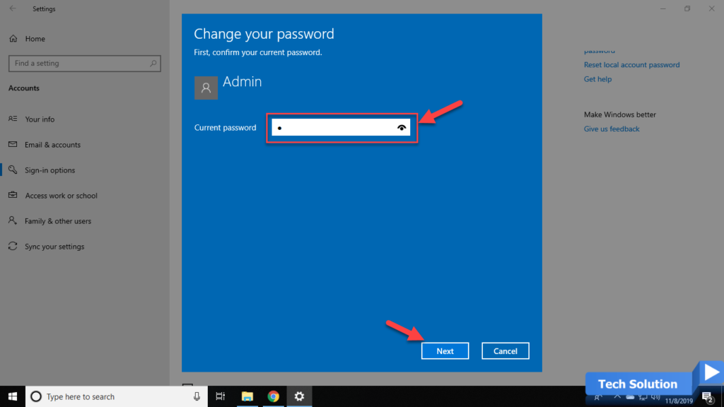 How to Change Your Password in Windows 10 -2
