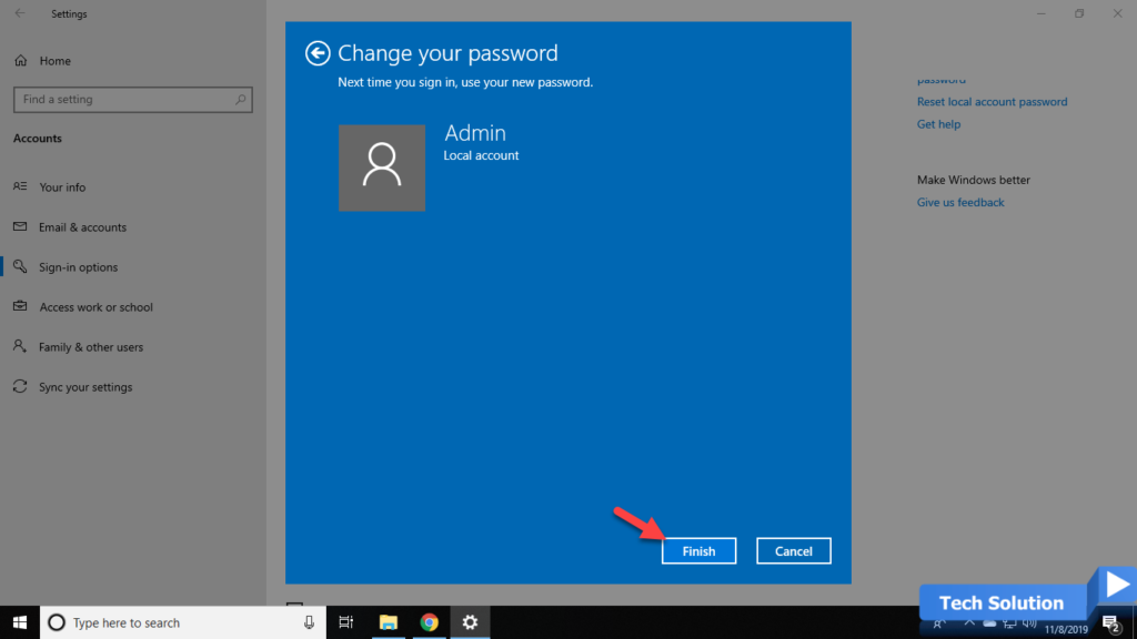 How to Change Your Password in Windows 10 -4