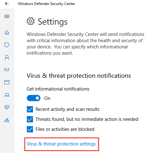 How to Turn Off Windows Defender in Windows 10 12
