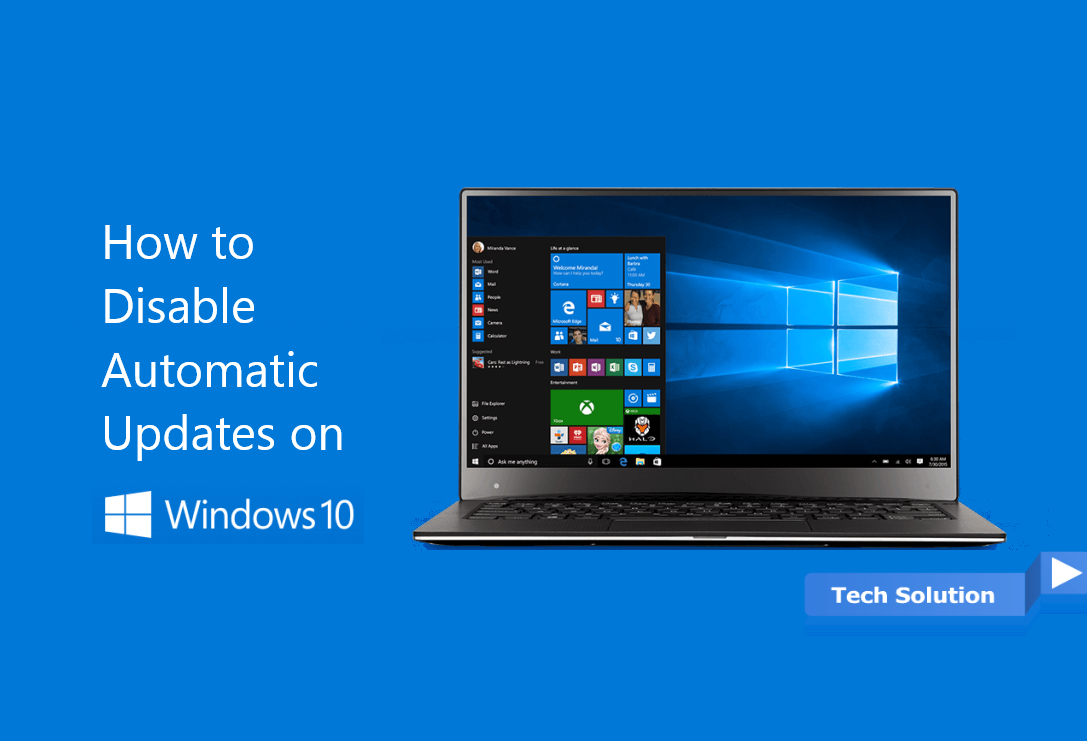How to disable Automatic Updates on Windows 10 Header
