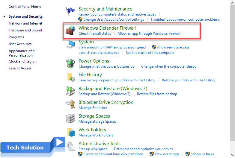How to Disable the Windows Firewall in Windows 4