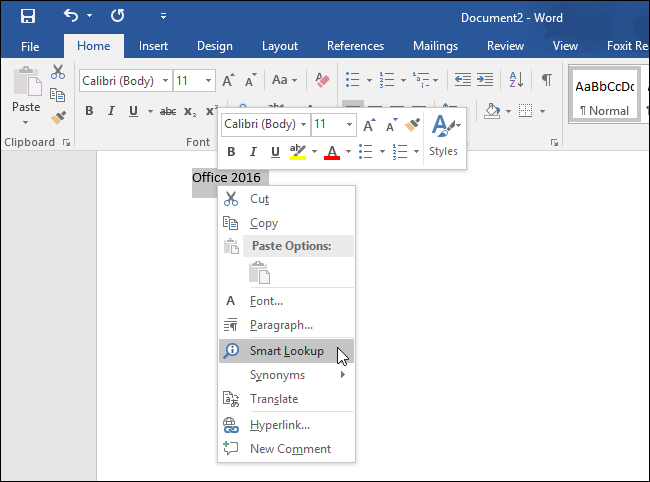 download_office_2016_selecting_smart_lookup
