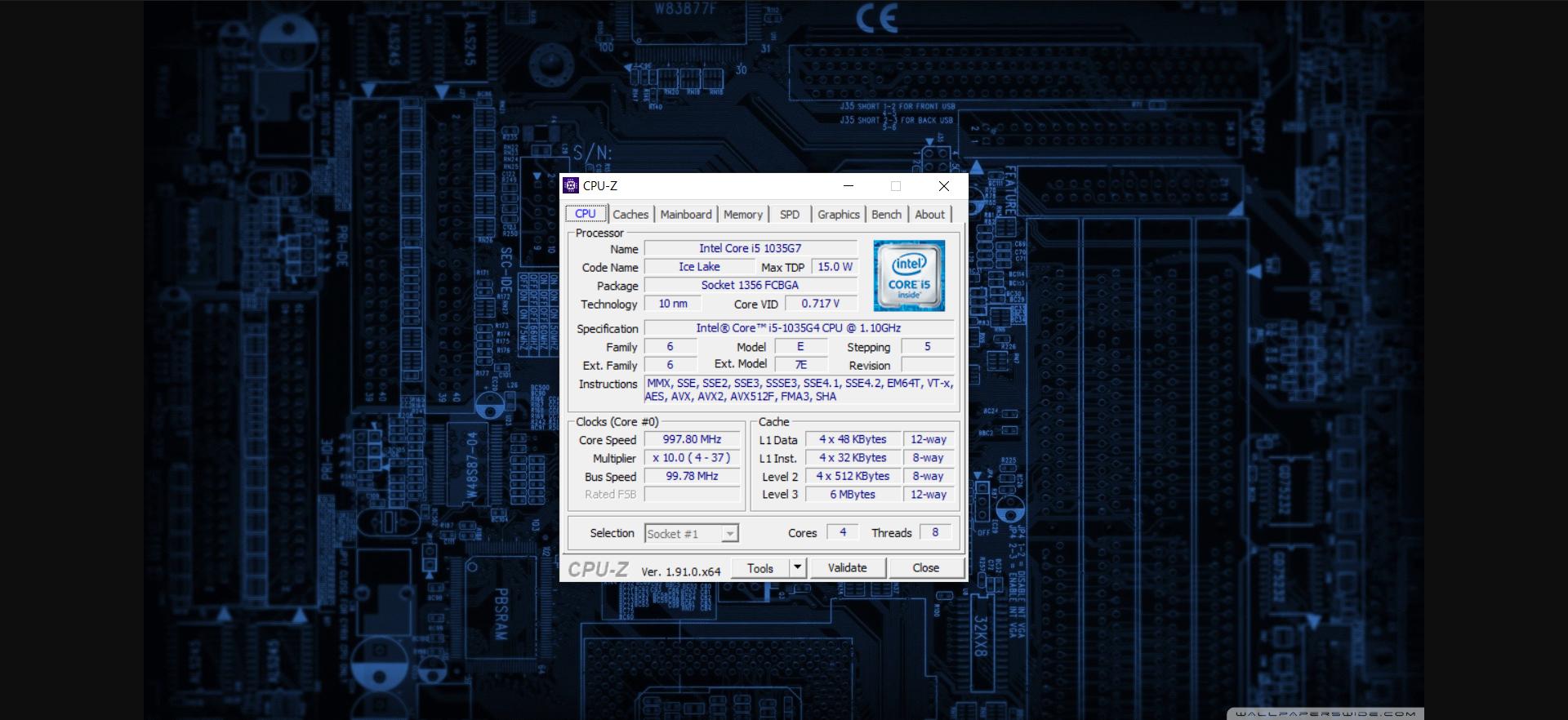 Download CPU-Z (32 bit - 64 bit)
