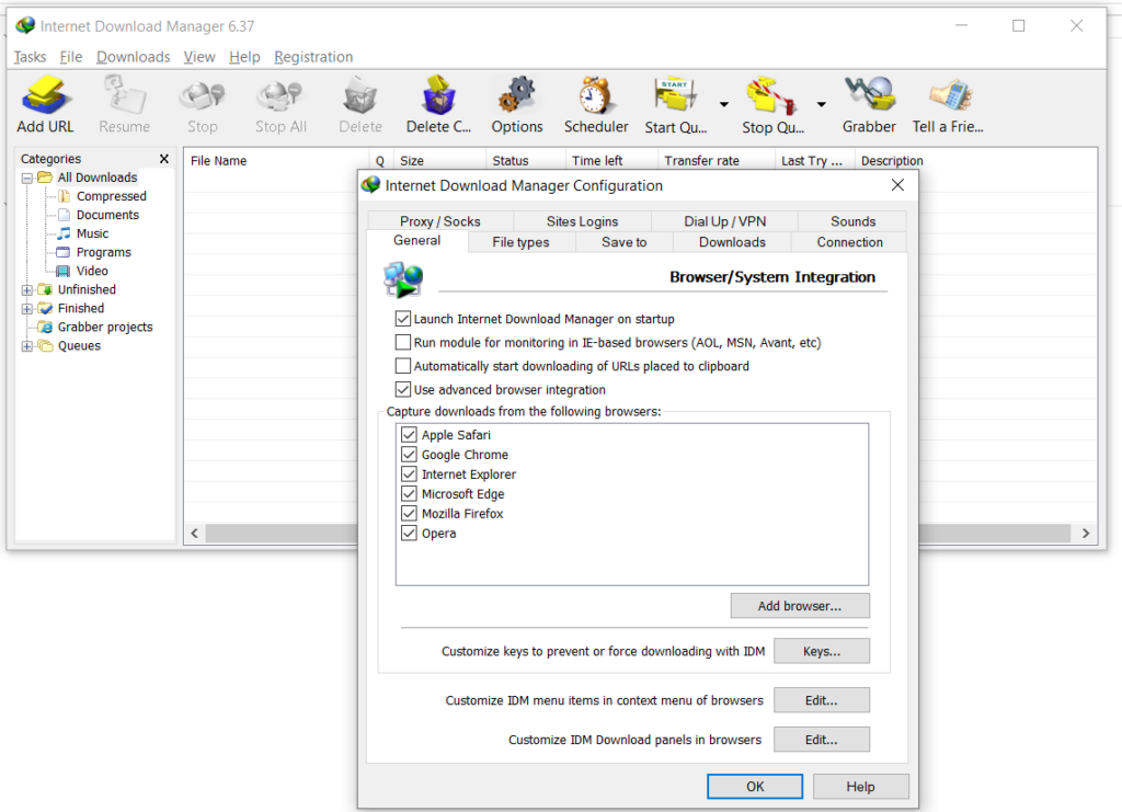 Download Internet Download Manager (IDM) 6.37 build 14