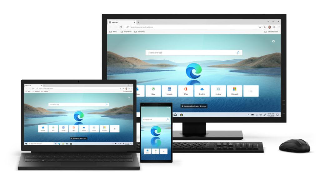 Multi-platform Microsoft Edge Chromium
