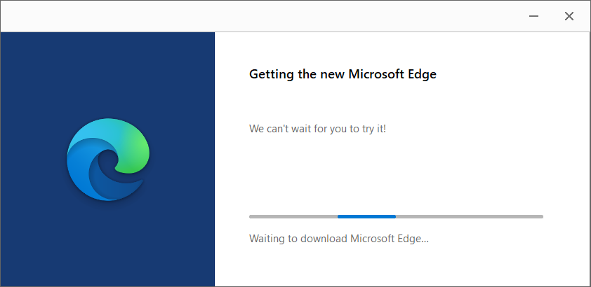 Download Microsoft Edge Chromium for Windows