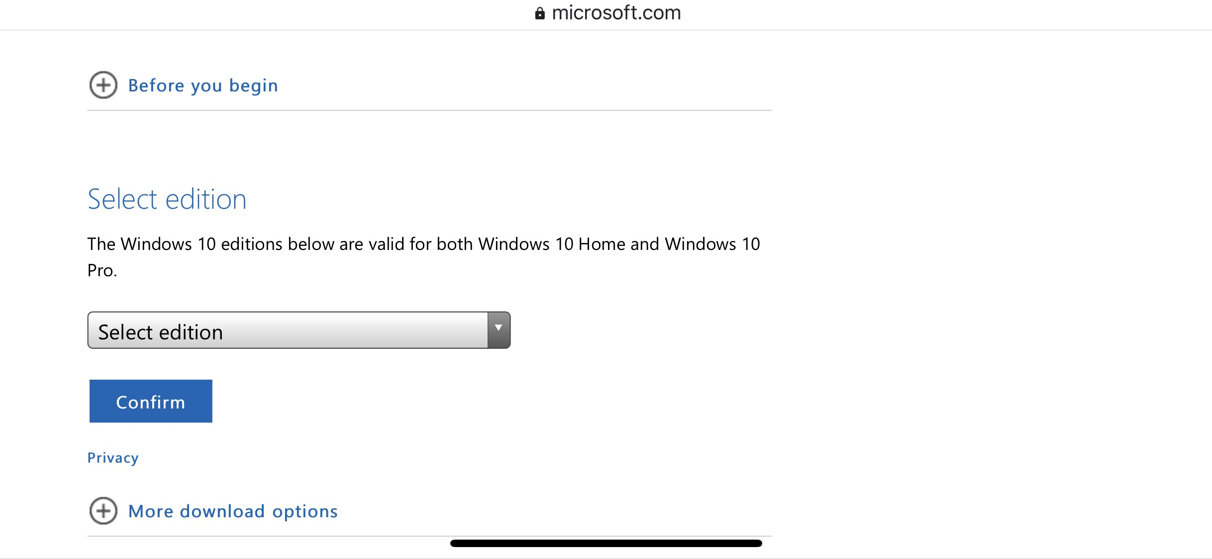 Download Windows 10 from Microsoft Latest Version 1