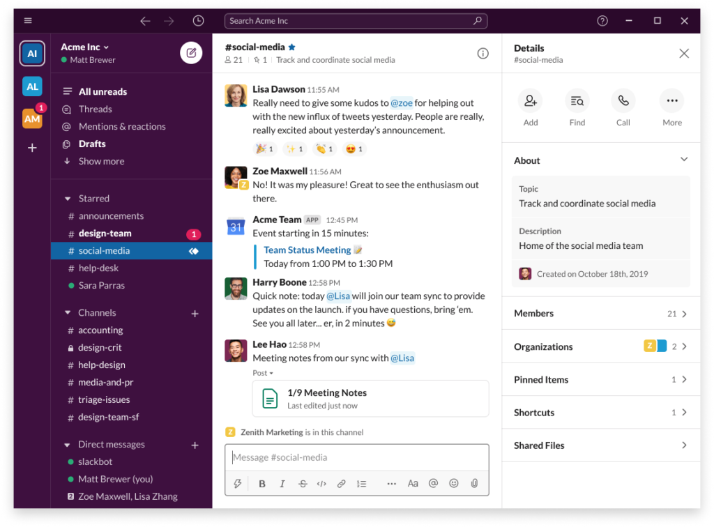 Download Slack for Windows -  desktop app