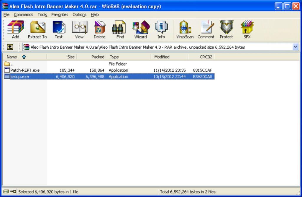 Download Winrar 32 bit - 64 bit for Windows - Interface
