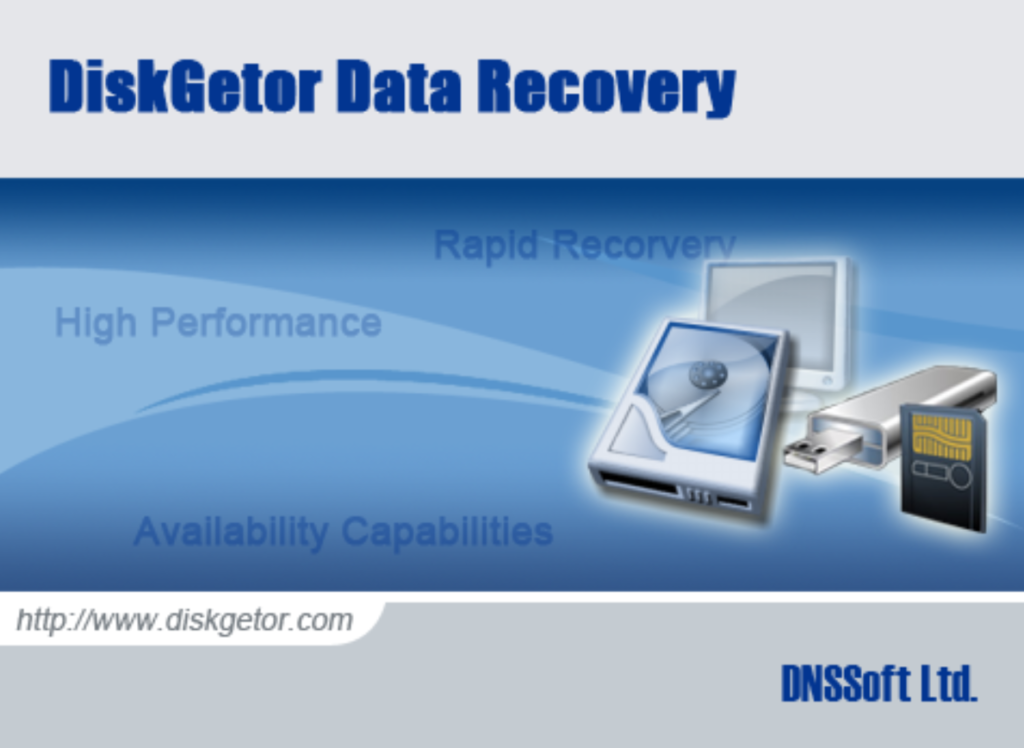 Download DiskGetor Data Recovery for Windows